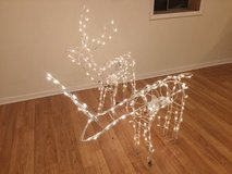 Animated Lighted deers in Joliet, Illinois