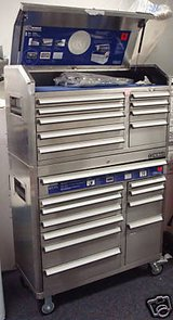 Used Kobalt Tool Box-Stainless Steel in Baytown, Texas