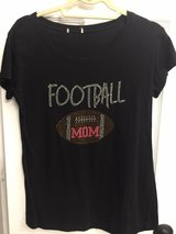 Football Mom Shirt--Size Large in Kingwood, Texas