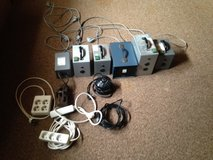 7 transformers and power cords in Stuttgart, GE