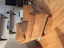 Large Pier 1 chair and ottoman in Stuttgart, GE