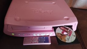 Girl room DVD/VHS DISNEY player 110VAmerican plug in Ramstein, Germany