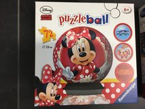 Minnie Mouse puzzle ball in Ramstein, Germany