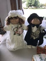 1986 bride and groom cabbage patch dolls in Elgin, Illinois