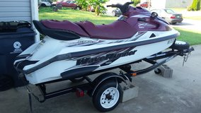 1998 yamaha pwc and 2004 roadmaster trailer. in Fort Campbell, Kentucky