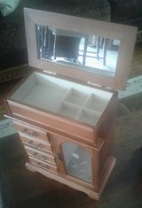 Solid Wood Jewelry Box...Nice Quality! in Clarksville, Tennessee