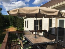 6 piece outdoor living patio set with umbrella in Fort Campbell, Kentucky