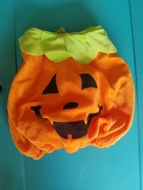 baby pumpkin costume. One size fits most up to 24 months in Watertown, New York