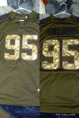 Buffalo Bills Salute To Service Kyle Williams Jersey in Watertown, New York