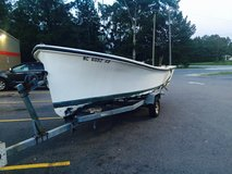 20' kencraft cc well boat 91 85 hp Yamaha and trailer in Goldsboro, North Carolina
