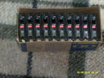 10 Square D   QBO - 20 AMP Breakers  120V   Bolt On  Single Pole   ( NEW Box of Ten ) in Aurora, Illinois