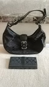 small-med size Coach bag&wallet in Vista, California