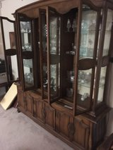 Large China cabinet in Montezuma, Georgia