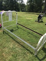 Antique Twin Size Iron Bed in Dover, Tennessee
