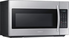 Samsung - 1.8 Cu. Ft. Over-the-Range Microwave - Stainless Steel in Los Angeles, California