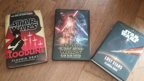 Collection of Star Wars Books in Fort Benning, Georgia
