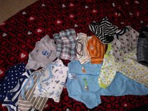 baby boy clothes like new in Barstow, California