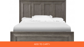 Complete King Bed w/ footboard, rails and slags in Bolingbrook, Illinois