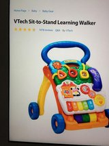 vtech baby walker new condition in Vista, California