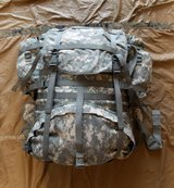 USGI MOLLE II Large Field Backpack with Frame & 2 Sustainment Pouches in Fort Sam Houston, Texas