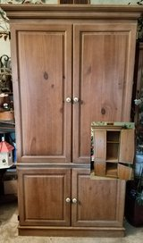 washed pine armoire in Morris, Illinois