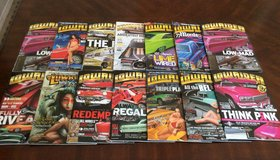 Lowrider Magazines Lot in Fort Bliss, Texas