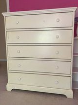 Land of Nod Solid Oak Childs Dresser in Aurora, Illinois
