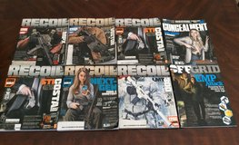 Recoil and Survival Magazines in Fort Bliss, Texas
