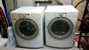 Whirlpool Duet washer and Dryer set in Okinawa, Japan