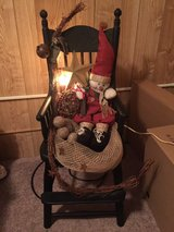 Christmas Lighted child's Rocking Chair in Harrisburg, Pennsylvania
