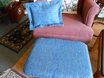 Glider Foot Stool & Pillow in Cherry Point, North Carolina