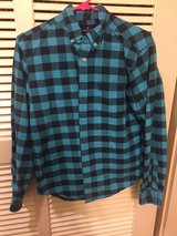 American Eagle plaid flannel in Okinawa, Japan