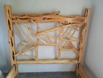pine bed frame in Conroe, Texas