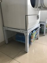 German Washer and Dryer Stands in Ramstein, Germany