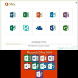 Microsoft Office Professional Plus 2016 program for sale. Lifetime activation included in Savannah, Georgia