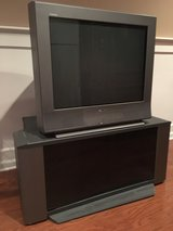 "Sony Trinitron 27"" TV and stand in Aurora, Illinois"