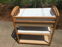 Changing Table -oak in Aurora, Illinois