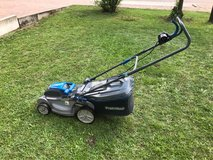 Electric Lawnmower in Ramstein, Germany
