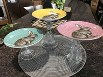 Cute Easter Pedestal Plates in Algonquin, Illinois