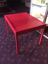 Red shabby Chic Table REDUCED ! in Warner Robins, Georgia