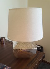 Silver Desk/Nightstand Lamp in Naperville, Illinois