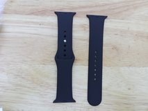 Apple Watch band black silicone 38mm in Fort Campbell, Kentucky