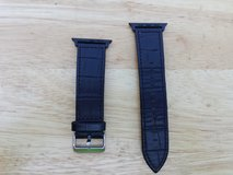 Apple Watch band black leather 42mm in Fort Campbell, Kentucky