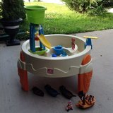 Step 2 Water table pool with extra toys in Fort Campbell, Kentucky