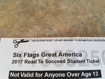 Child great america ticket in Joliet, Illinois