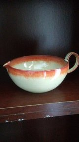 Ceramic Bowl with pour lip and handle in Lockport, Illinois