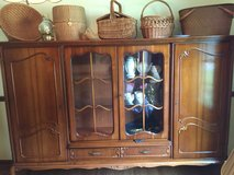 Chippendale break front China cabinet and buffet in Fort Knox, Kentucky