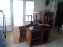 small desk ,tables, shelves. in Yucca Valley, California