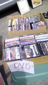 Over 65 DVD's & some old PlayStation games in Ruidoso, New Mexico
