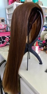 two tone sensationnel wig straight hair in Camp Lejeune, North Carolina